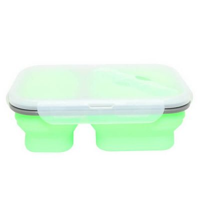 silicone collapsible lunch containers