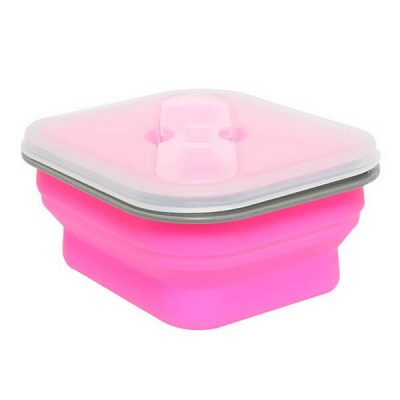collapsible silicone lunch box 02