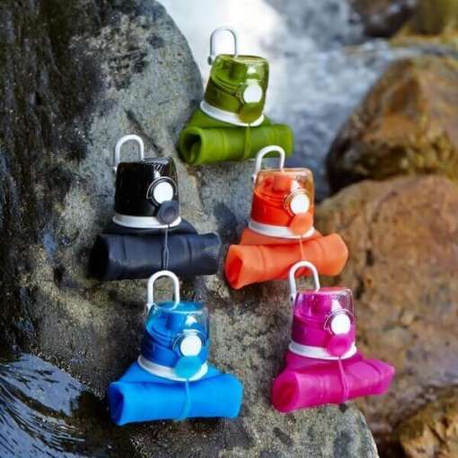 collapsible silicone water bottle with filter 04