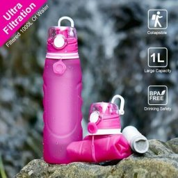 collapsible silicone water bottle with filter 05