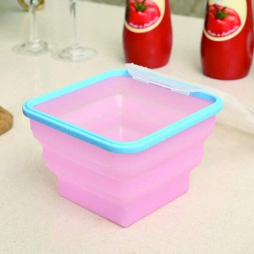 silicone flat stacks containers