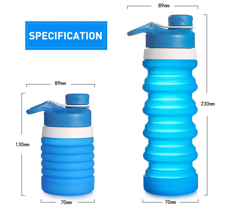 Spec01_silicone collapsible water bottle